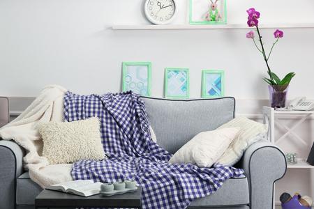 Modern living room interior Standard-Bild
