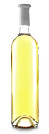 wine bottle isolated on white background Foto de archivo - 102590969