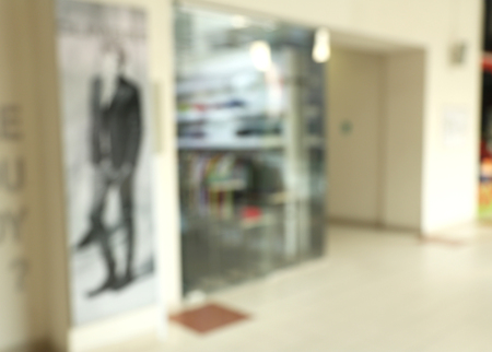 Store, shopping mall abstract defocused blurred background 版權商用圖片