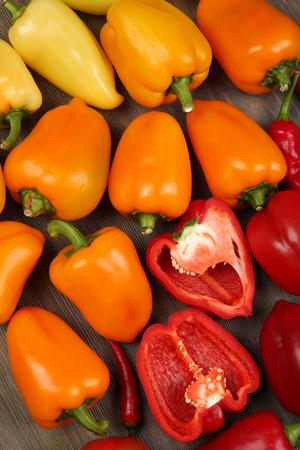 Vegetables closeup