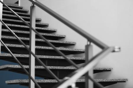 Modern stairs in office Stock fotó