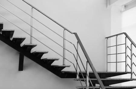 Moderne trap in kantoor Stockfoto