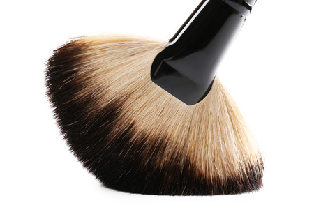 Makeup brush isolated on white