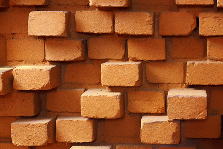 Red brick wall background 免版税图像 - 107357254