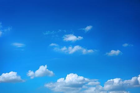 White clouds in blue sky 스톡 콘텐츠