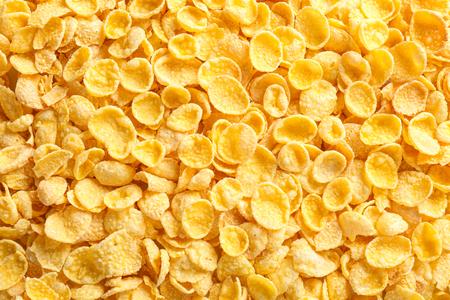 Copos de maíz sabrosos como fondo Foto de archivo