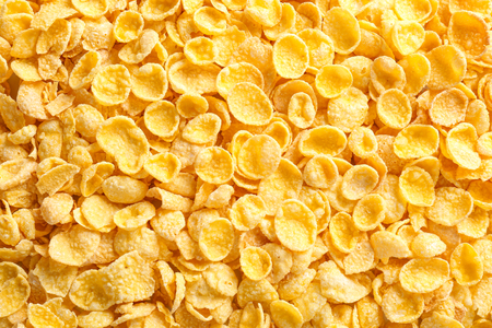 Tasty cornflakes as background Stok Fotoğraf