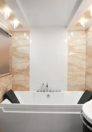 Hydro massage bath in modern spa center Stok Fotoğraf