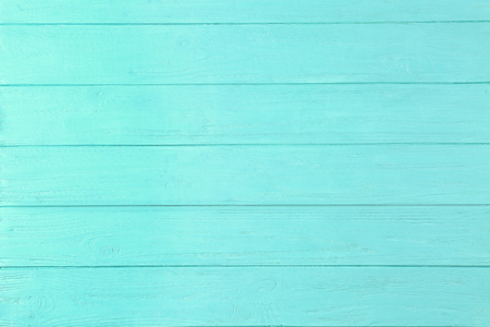 Wooden background in mint color