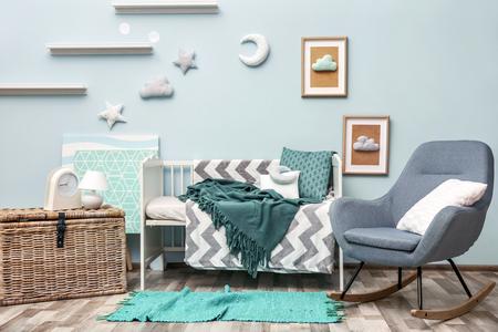 Splendidi interni della camera dei bambini