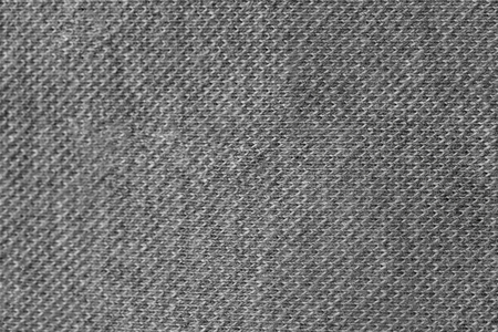 Grey fabric texture, closeup