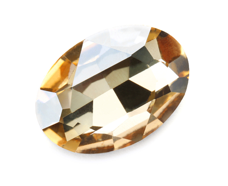Precious jewel on white background 免版税图像