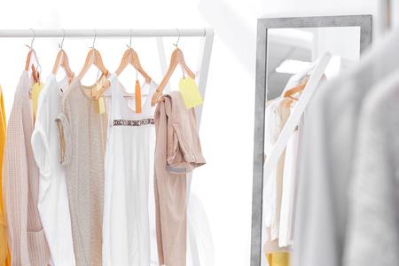 Different women wear in modern shop