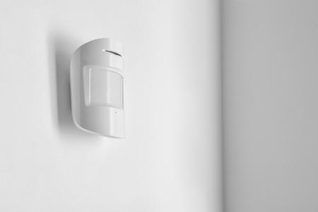 Modern motion sensor indoors