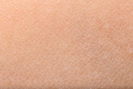 Textur der menschlichen Haut, Nahaufnahme