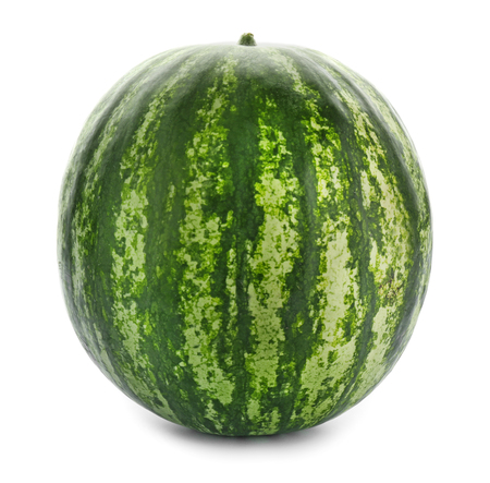 Delicious watermelon on white background 版權商用圖片