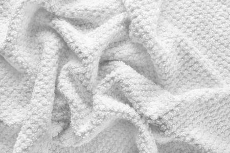 Texture of clean soft towel