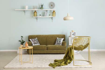 Stylish interior of modern room Reklamní fotografie