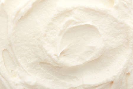 Tasty cream cheese as background