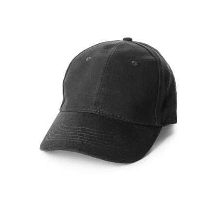 Blank cap on white background