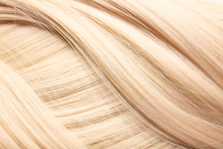 Healthy blonde hair as background