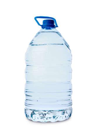 Bottle of clean water on white background Reklamní fotografie