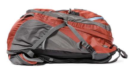 Modern tourist's backpack on white background Reklamní fotografie