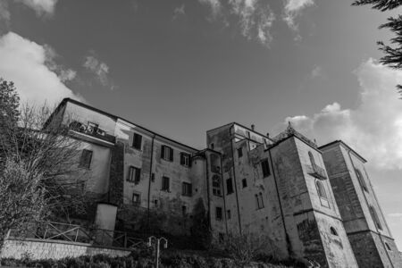 Glimpses of the historic center of Isernia, capital of the homonymous province of Molise, a pleasant town with a cool climate in summer and not too cold in winter.