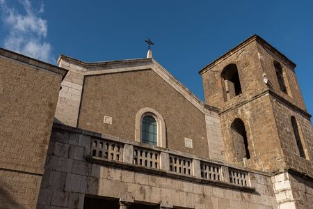 Teano, the Cathedral. The cathedral of San Clemente is the main place of worship in the city of Teano, in Campania, and the seat of the diocese of Teano-Calvi