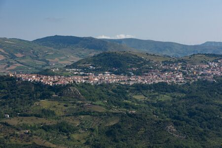 Agnone, Isernia, Molise. Panorama. Agnone (Agnèune in local dialect) is an Italian town of 4 921 inhabitants in the province of Isernia in Molise.