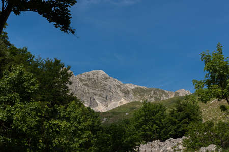 Molise, Mainarde. The Mainarde mountain range extends along the border between Molise and Lazio, with prevalence in the Molise territory. It is a very rocky natural barrier with a rugged aspect.