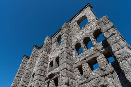Ruins of the Roman Theater of Aosta