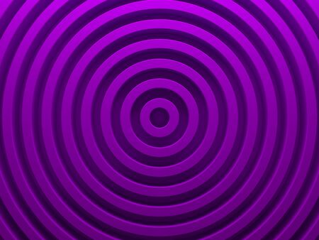 Purple radial texture. High resolution geometric background for material modern design. 3D illustration.