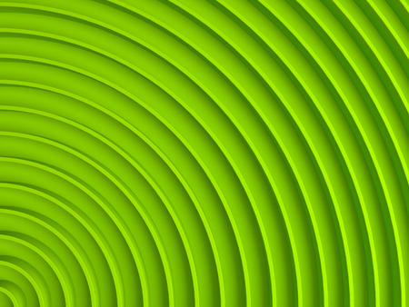 Green abstract radial background. 3D illustration. This image works good for text backgrounds, website backgrounds, or print.