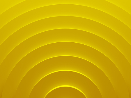 Yellow gold rings. Geometric abstract background texture works good for text backgrounds, website backgrounds, poster and mobile application. 3D illustration.