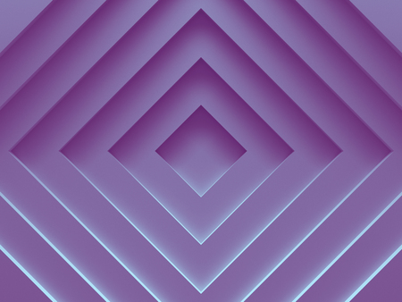 Rhombuses. Abstract image works good for text backgrounds, website backgrounds, print or app. 3D illustration.