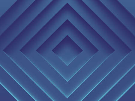 Abstract background. Blue layers. Can be used for web design, wallpaper, modern design, banner and mobile application. 3D illustration. Stock Photo