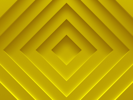 Abstract background. Yellow rhombuses. For graphic design, book cover template, business brochure, website template design. 3D illustration.