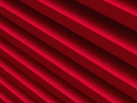 Red lines. Abstract background for graphic design, book cover template, website design, application design. 3D illustration. Stock Photo