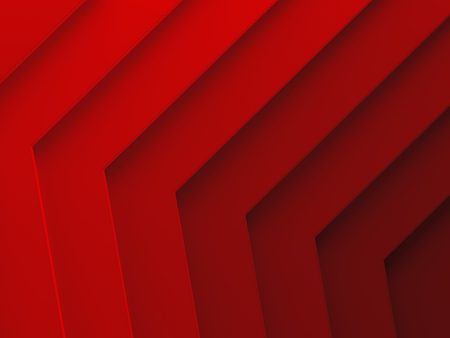 Red tiles. Female abstract background for graphic design, book cover template, website design, application design. 3D illustration. Stock Photo