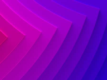 Gradient geometric background texture works good for text and website backgrounds, poster and mobile application. 3D illustration. Arrows. Stock Photo