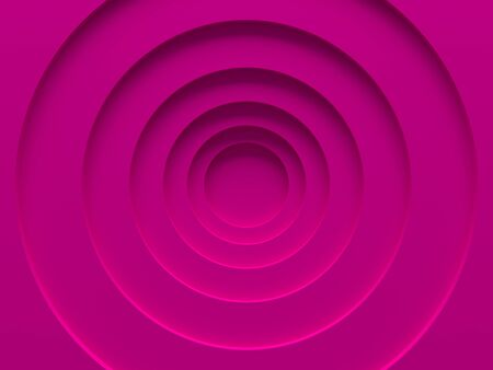 Pink material rings. Female background. Can be used for web design, wallpaper, modern design, commercial banner and mobile application. 3D illustration.