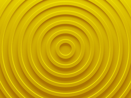 Yellow swirl. Abstract background for graphic design, book cover template, business brochure, website template design. 3D illustration. Stock Photo