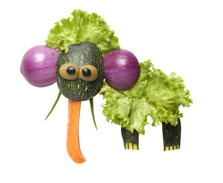 mammoth: Mammoth made of vegetables