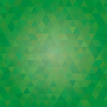 pastel shades: abstract seamless sample of the repeating green triangles of elements. vector illustration Illustration