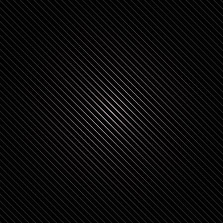 speaker grille pattern: vector background with a metallic black diagonal stripes with glare in the middle