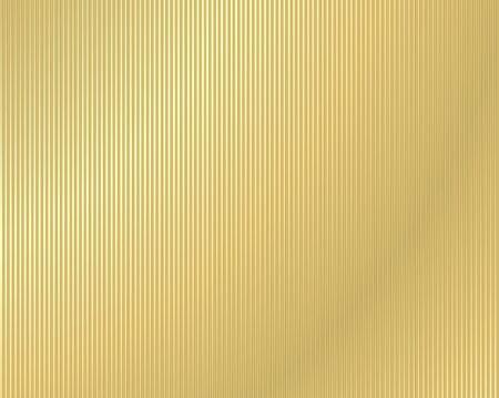 sheet iron: vector background of corrugated gold Illustration