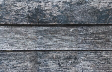 Old wood background, natural material with rough gray surface, textured shabby, backdrop. Pine board knocked down in shield. Close-up photography. Stock Photo