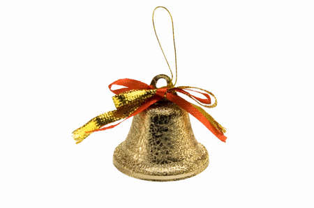 toyshop: The handbell on white background.
