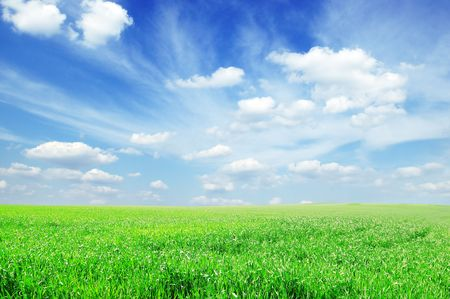 campo e il cielo
